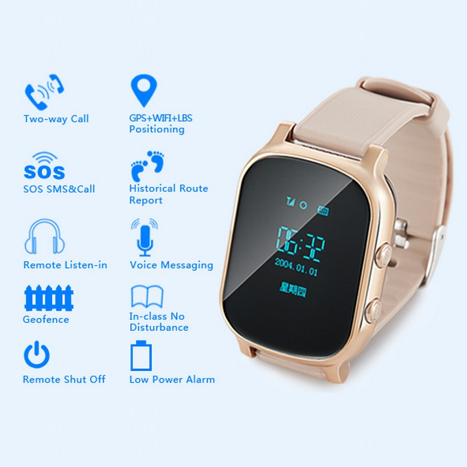 PM02 Adult phone watch tracker,Anti-lost bracelet,Tracking locator, gps mobile tracker